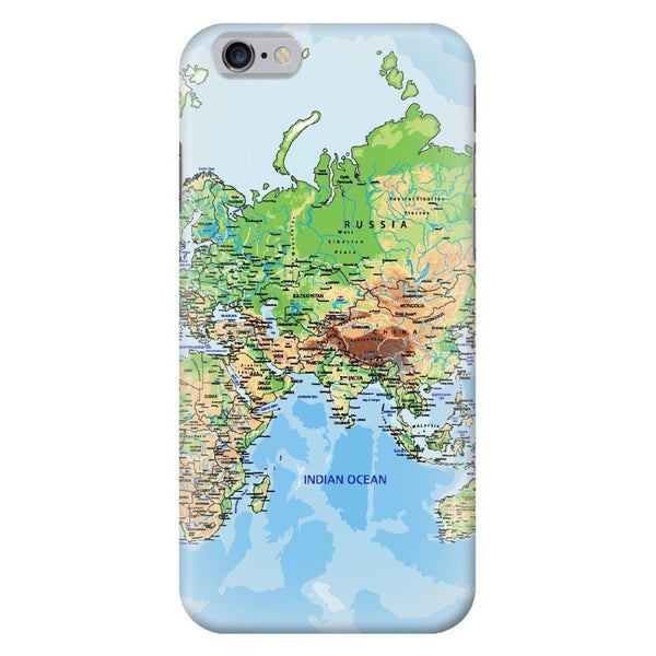 World Map Europe & Asia Smartphone Case-Gooten-iPhone 6/6s-| All-Over-Print Everywhere - Designed to Make You Smile