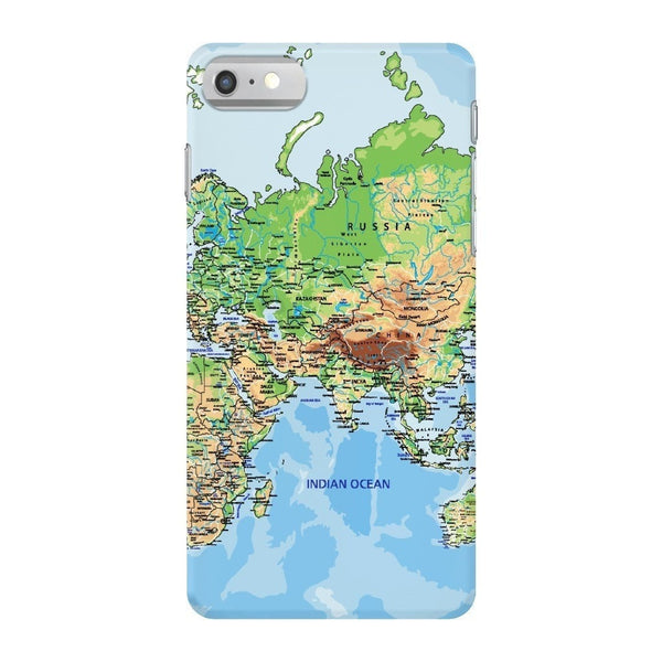 World Map Europe & Asia Smartphone Case-Gooten-iPhone 7-| All-Over-Print Everywhere - Designed to Make You Smile