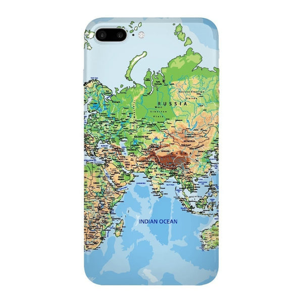 World Map Europe & Asia Smartphone Case-Gooten-iPhone 7 Plus-| All-Over-Print Everywhere - Designed to Make You Smile