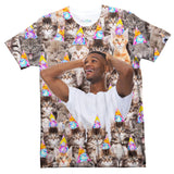 Birthday Cats Custom Clothing-Shelfies-XS-T-Shirt-| All-Over-Print Everywhere - Designed to Make You Smile