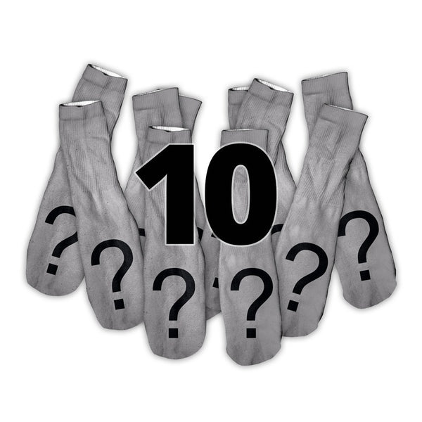 Custom Image Shelfies Foot Glove Socks-Shelfies-10 Pairs-| All-Over-Print Everywhere - Designed to Make You Smile