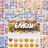 Emoji Shelfies Stickers - Shelfies | All-Over-Print Everywhere - Designed to Make You Smile