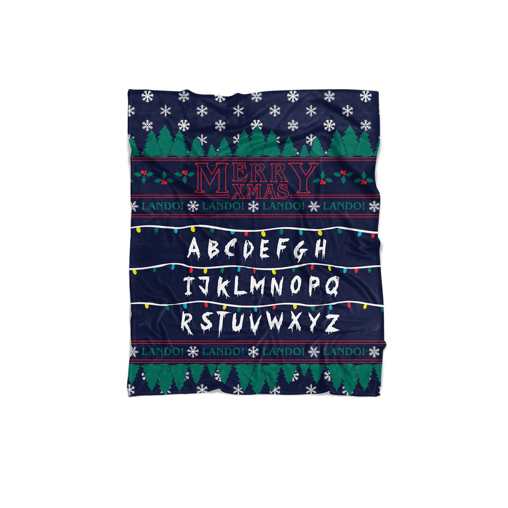 Stranger Xmas Blanket-Gooten-Regular-| All-Over-Print Everywhere - Designed to Make You Smile