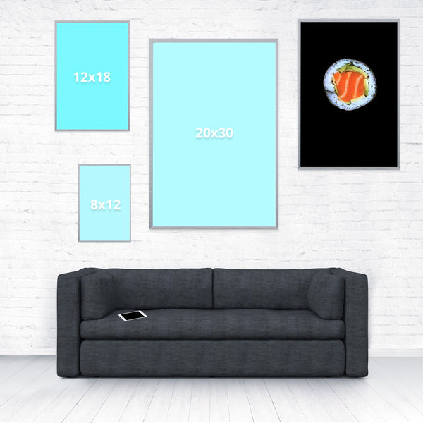 Sushi Poster-Shelfies-16 x 24-| All-Over-Print Everywhere - Designed to Make You Smile