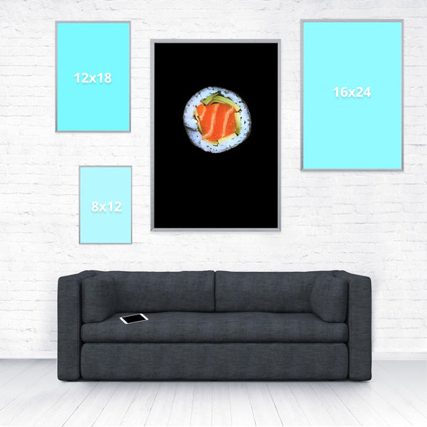 Sushi Poster-Shelfies-20 x 30-| All-Over-Print Everywhere - Designed to Make You Smile