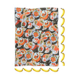 Sushi Invasion Blanket-Gooten-| All-Over-Print Everywhere - Designed to Make You Smile