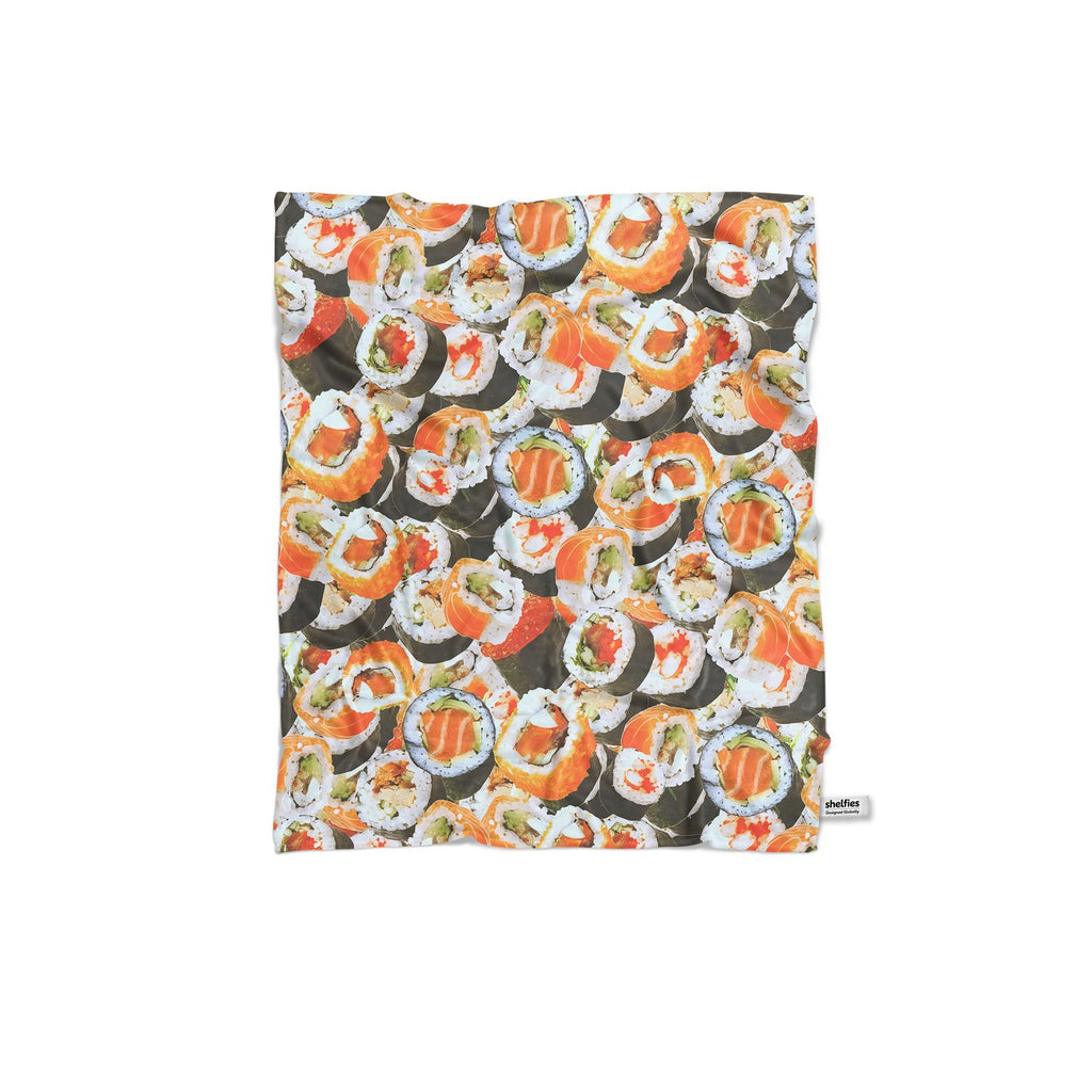 Sushi Invasion Blanket-Gooten-Regular-| All-Over-Print Everywhere - Designed to Make You Smile