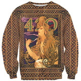 420 Mucha Sweater-Shelfies-| All-Over-Print Everywhere - Designed to Make You Smile