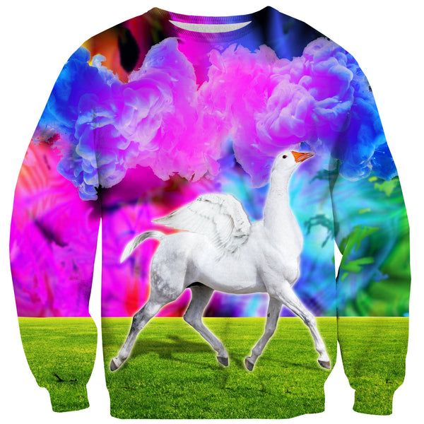 Acid Trip Sweater-Shelfies-| All-Over-Print Everywhere - Designed to Make You Smile