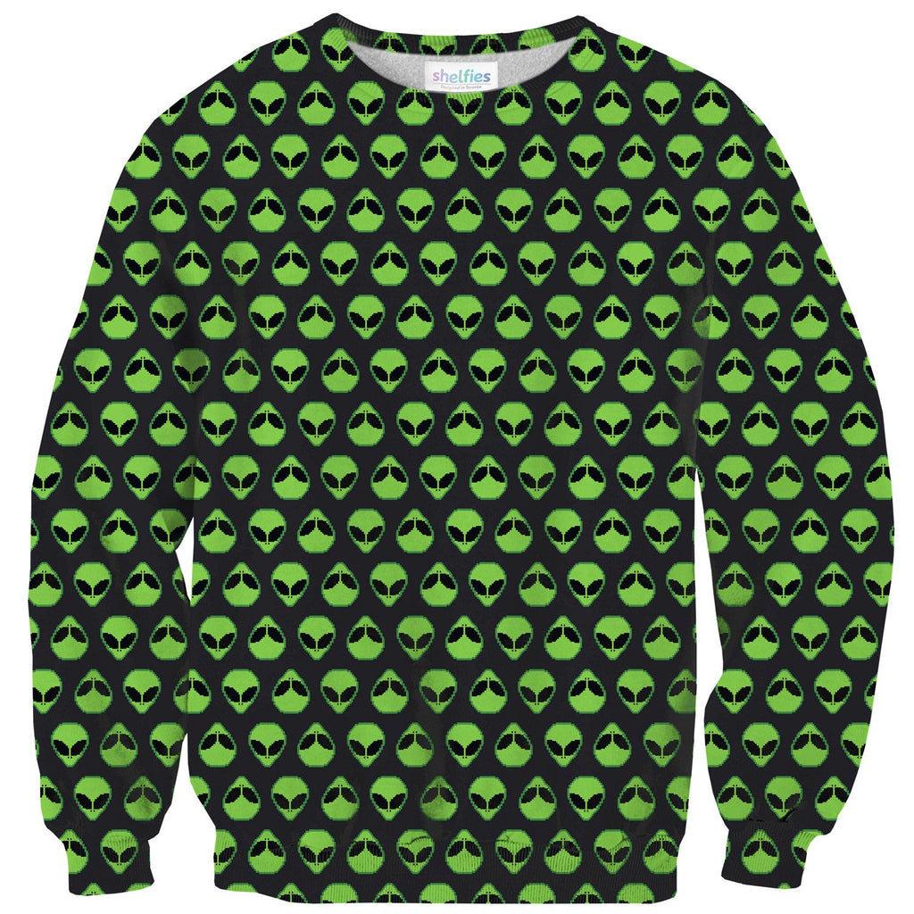 Alienz Sweater-Subliminator-| All-Over-Print Everywhere - Designed to Make You Smile