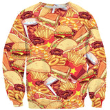 Sweaters - Anime Fast Food Invasion Sweater