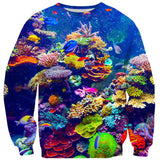Aquarium Sweater-Subliminator-| All-Over-Print Everywhere - Designed to Make You Smile