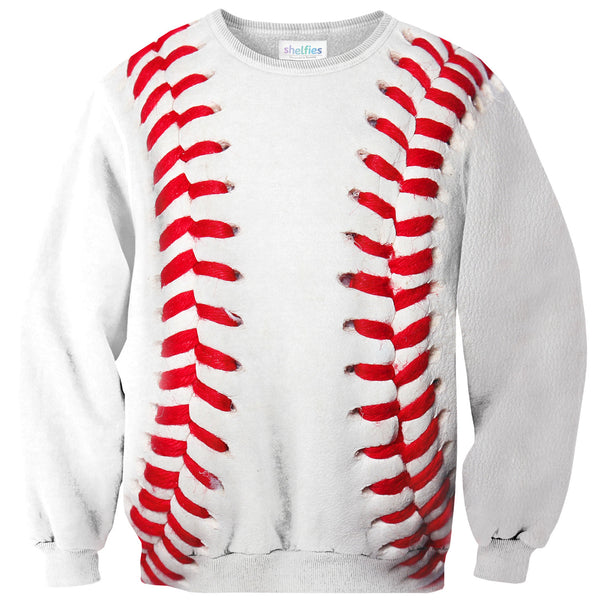 Baseball Sweater-Shelfies-| All-Over-Print Everywhere - Designed to Make You Smile