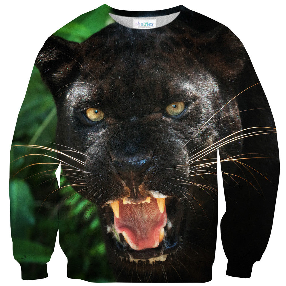 Sweaters - Black Panther Face Sweater