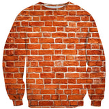 Brick Wall Sweater-Shelfies-XS-| All-Over-Print Everywhere - Designed to Make You Smile