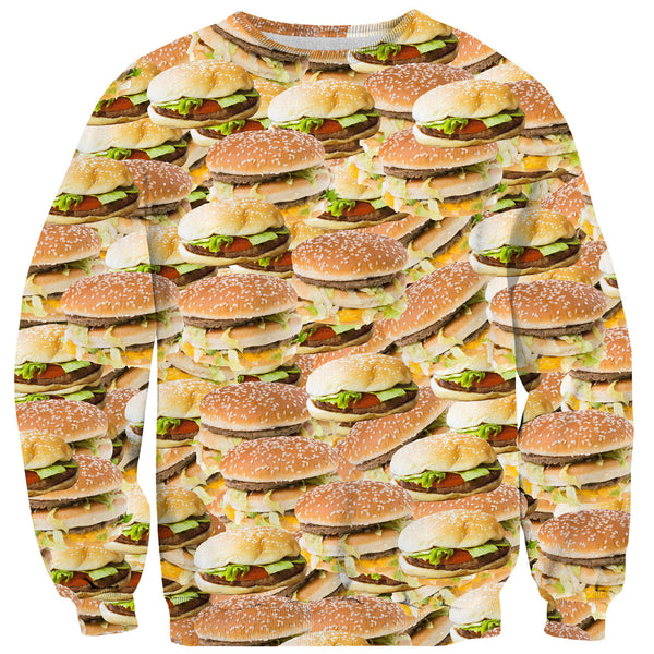 Sweaters - Burgers Before Bros Sweater