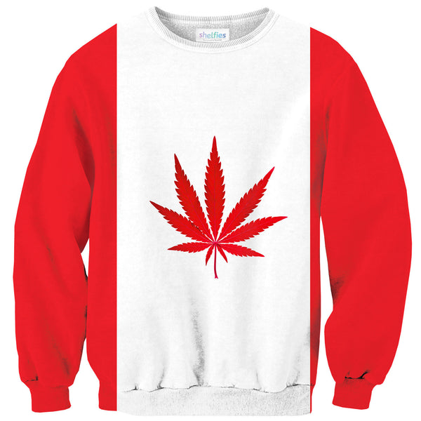 Sweaters - Canadian Cannabis Sweater
