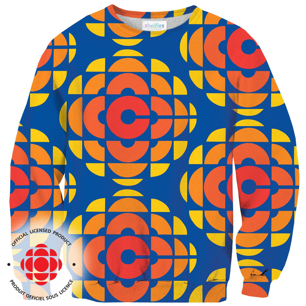 CBC Retro Sweater-Subliminator-| All-Over-Print Everywhere - Designed to Make You Smile