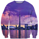 CN Tower Sweater-Shelfies-| All-Over-Print Everywhere - Designed to Make You Smile