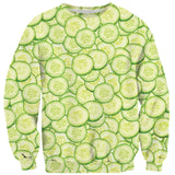 Cucumber Invasion Sweater - Shelfies | All-Over-Print Everywhere - Designed to Make You Smile