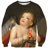 Sweaters - Cupid Pizza Sweater