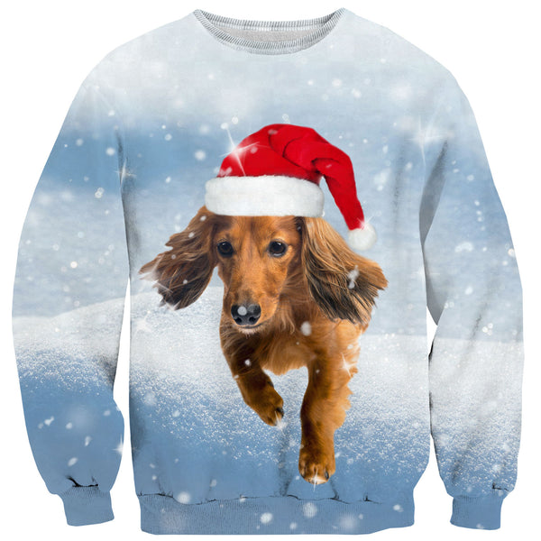 Sweaters - Dachshund Through The Snow Sweater