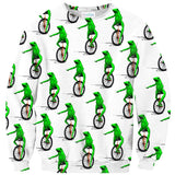 Dat Boi Sweater-Shelfies-| All-Over-Print Everywhere - Designed to Make You Smile