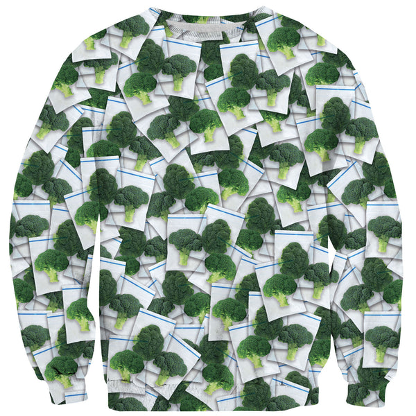 Dime Bags Sweater-Shelfies-| All-Over-Print Everywhere - Designed to Make You Smile