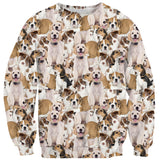 Sweaters - Doggy Invasion Sweater