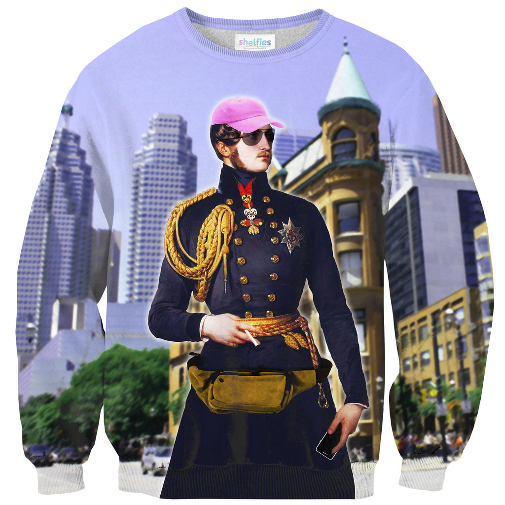 Dope Prince Sweater-Shelfies-| All-Over-Print Everywhere - Designed to Make You Smile