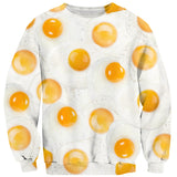 Eggs Sweater-Shelfies-| All-Over-Print Everywhere - Designed to Make You Smile