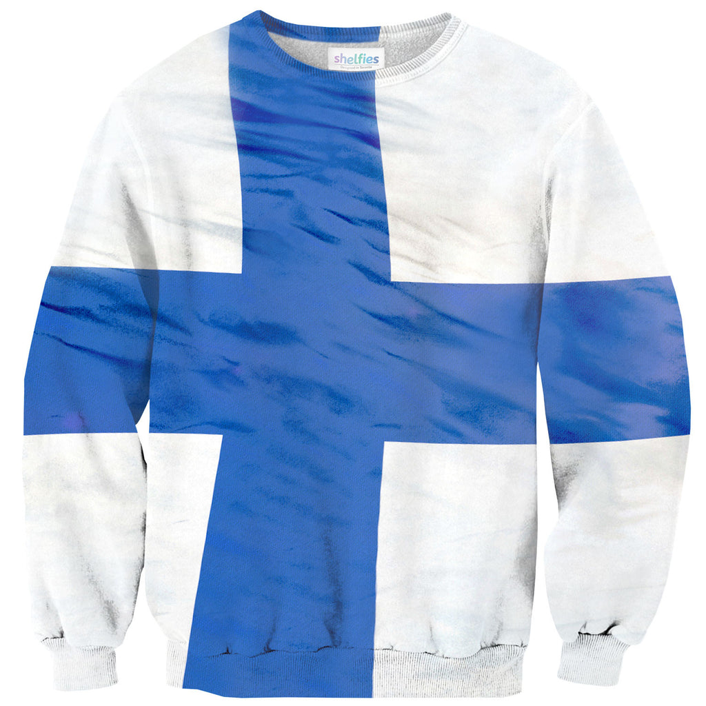 Sweaters - Finland Flag Sweater