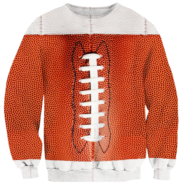 Football Sweater-Shelfies-| All-Over-Print Everywhere - Designed to Make You Smile