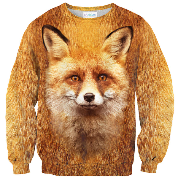 Sweaters - Fox Face Sweater