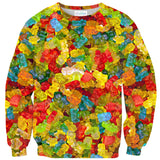 Gummy Bear Invasion Sweater-Subliminator-| All-Over-Print Everywhere - Designed to Make You Smile