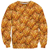 Heart Pizza Sweater-Shelfies-| All-Over-Print Everywhere - Designed to Make You Smile