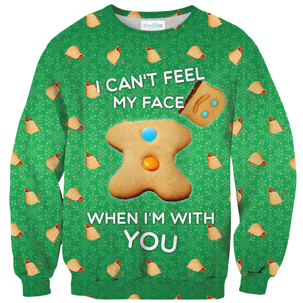 Sweaters - I Can't Feel My Face Sweater