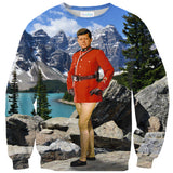 JFK Mounty Sweater - Shelfies | All-Over-Print Everywhere - Designed to Make You Smile