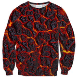 Lava Sweater-Shelfies-| All-Over-Print Everywhere - Designed to Make You Smile