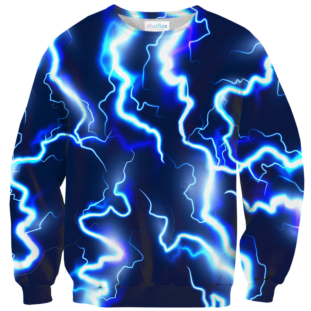Lightning Sweater-Shelfies-| All-Over-Print Everywhere - Designed to Make You Smile