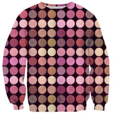 Makeup Palette Sweater-Shelfies-| All-Over-Print Everywhere - Designed to Make You Smile
