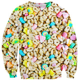 Marshmallow Cereal Sweater-Subliminator-| All-Over-Print Everywhere - Designed to Make You Smile