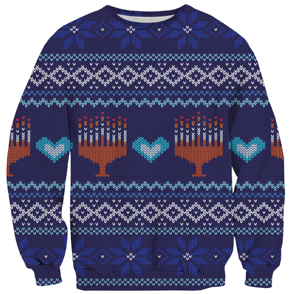 Sweaters - Menorah Sweater
