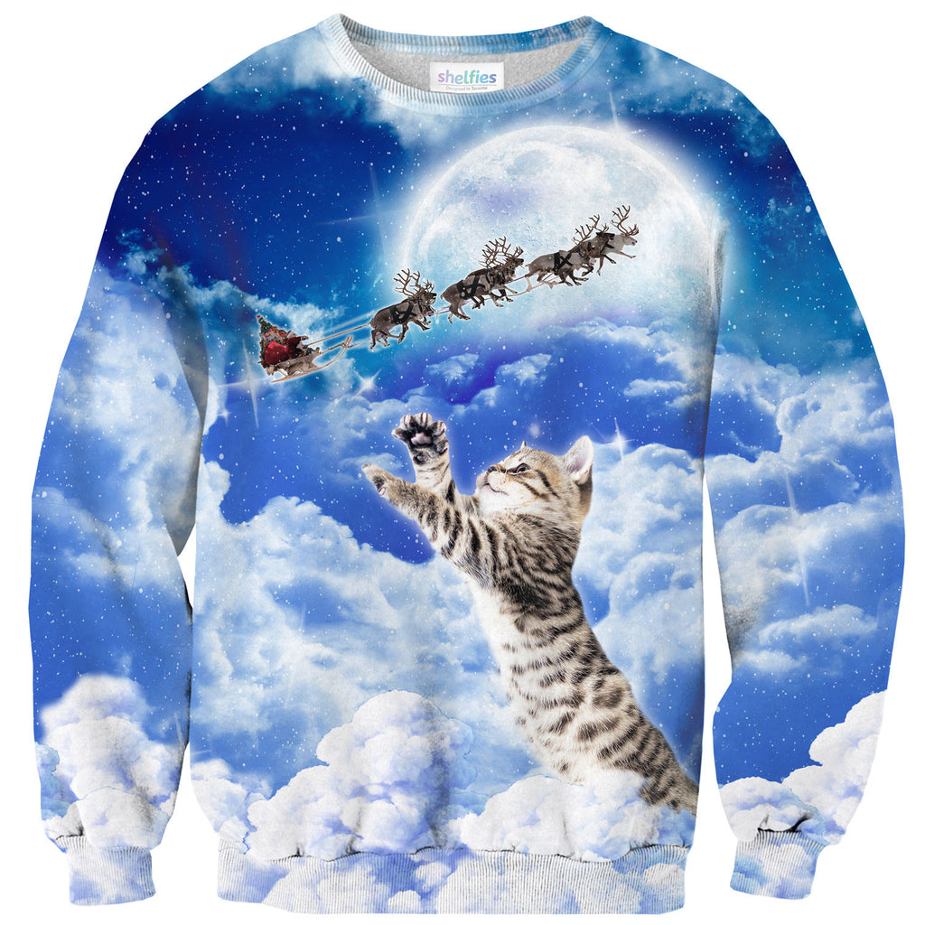 Sweaters - Meowy Christmas Sweater