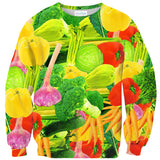 Mixed Veggies Sweater-Shelfies-| All-Over-Print Everywhere - Designed to Make You Smile