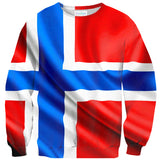 Sweaters - Norway Flag Sweater