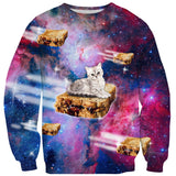 Sweaters - PB&J Galaxy Cat Sweater