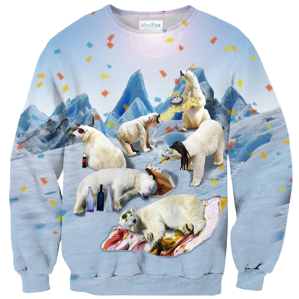 Sweaters - Polar Bear Party Sweater