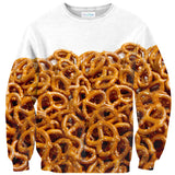 Pretzel Sweater-Shelfies-| All-Over-Print Everywhere - Designed to Make You Smile