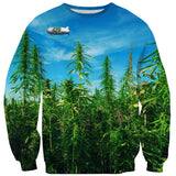 Stoner Trump Sweater-Shelfies-| All-Over-Print Everywhere - Designed to Make You Smile